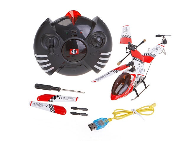 Mini RC Helicopter is Fueled By USB