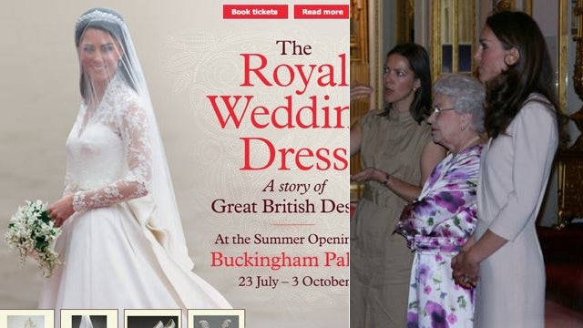 Kate Middleton Looked At Her Wedding Dress With The Queen