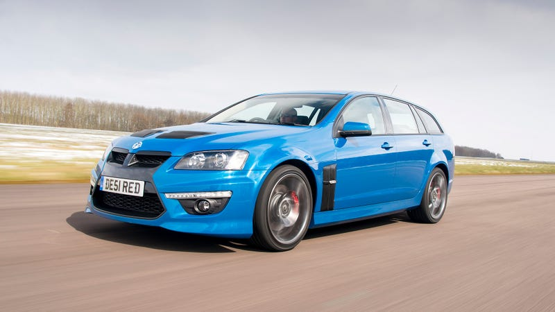 The Vauxhall VXR8 Is A Corvette-Engined Wagon For The British