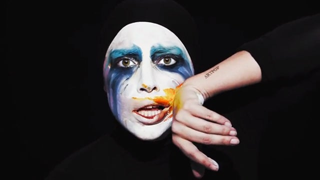 Lady Gaga Is a Magical Sad Mime Art Pony in the Video for 'Applause'