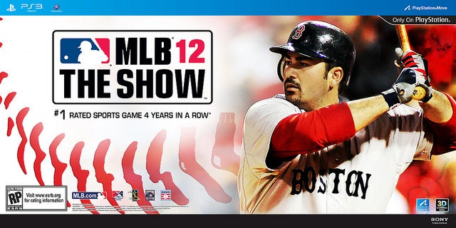 Red Sox' Gonzalez is The Show's Cover Star