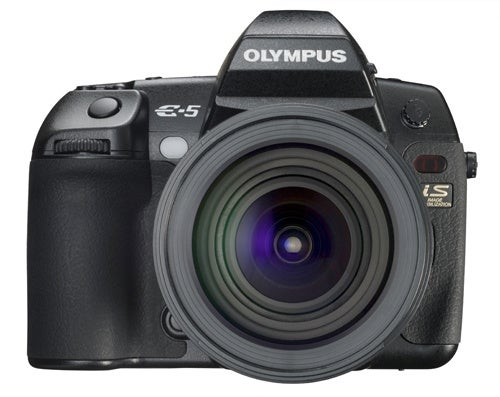 Olympus' E-5 DSLR Is Their First E-Series to Shoot HD Video