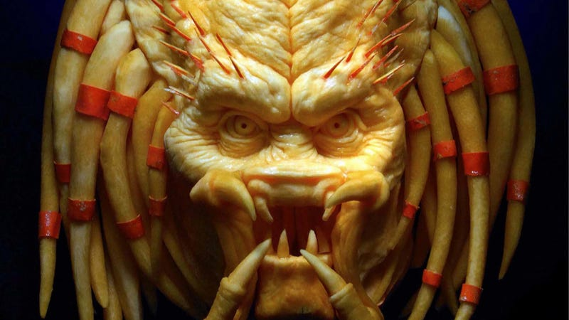 You're One...Ugly Predator Pumpkin (Amazing, Too)