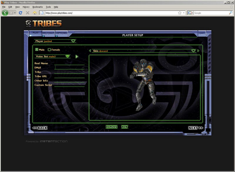InstantAction Brings Tribes To Your Web Browser
