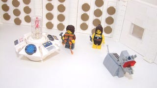 Everything is Awesome with a Classic Lego Doctor Who console room v2.0