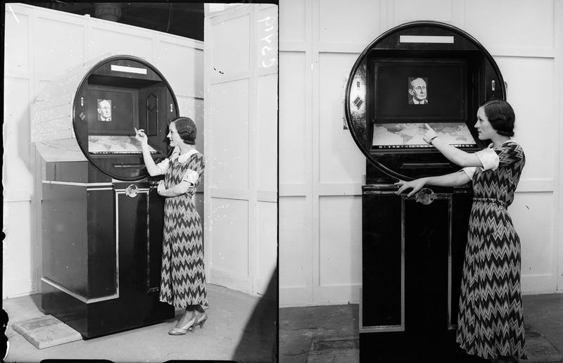 This Was the TV of the Future in 1933
