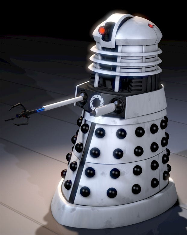 Portal Daleks Would be Great at Exterminating