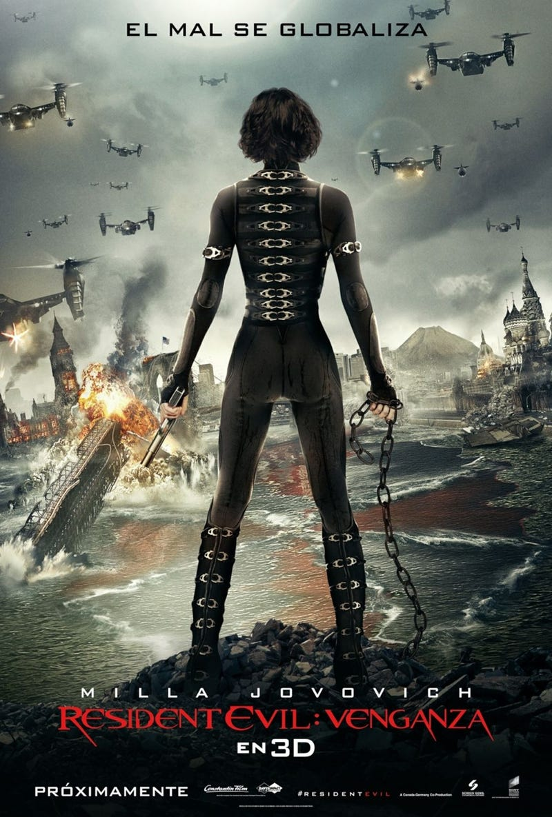 New Resident Evil: Retribution Poster