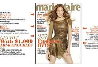 Marie Claire: Stale SATC Quotes & Fat-Freezing