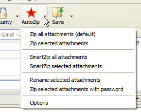 Automatically compress attachments with Auto Zip Attachments