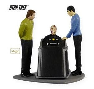 Hallmark's Captain Pike Figure Perfect As A Cake Topper For Your Three-Way Wedding