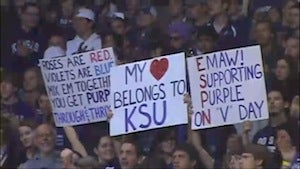 "Kansas State In Uproar Over ""Every Man"" Slogan"