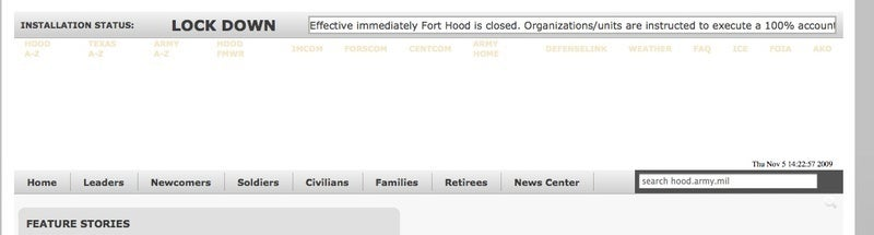 Mass Shooting Reported at Ft. Hood