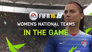 <i>FIFA </i>Video Game Finally Adds Women's Teams