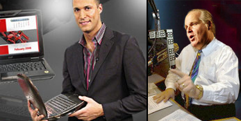 "Rush Limbaugh a ""Big Mac Guy;"" Nigel Barker Finds Macbook Air Too Skinny"
