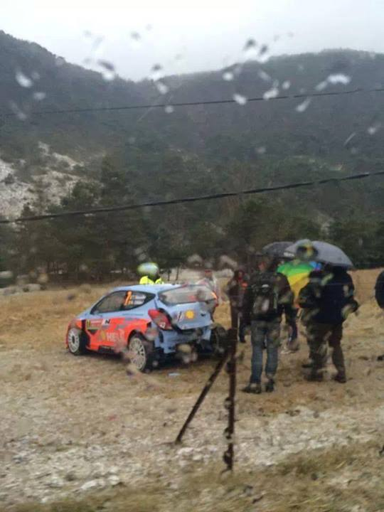 WRC Monte Carlo: Update before the final day.