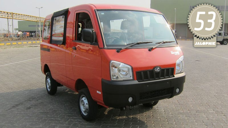 Mahindra Maxximo Van: The Jalopnik Review
