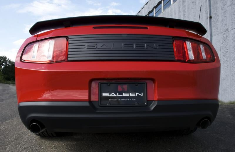 Saleen 435S Mustang Debuts With 435 HP, Without Steve