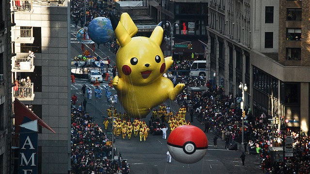 This Pikachu Fancies Himself In A Fight Against Godzilla