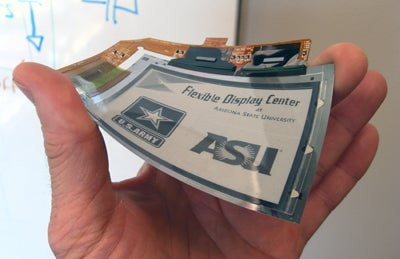 University Claims to Have Developed World's First Flexible Touchscreen Display