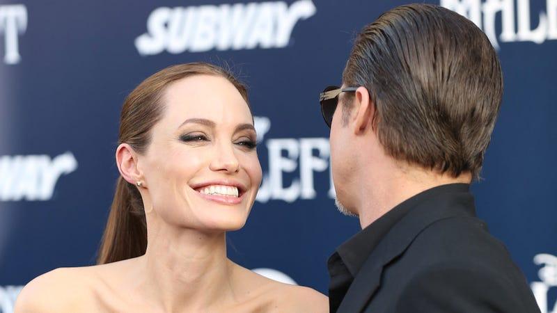 Holy Crap Brad Pitt and Angelina Jolie Got Married