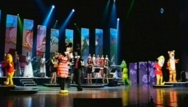 Disney Characters Perform for North Korean Leader Kim Jong Un