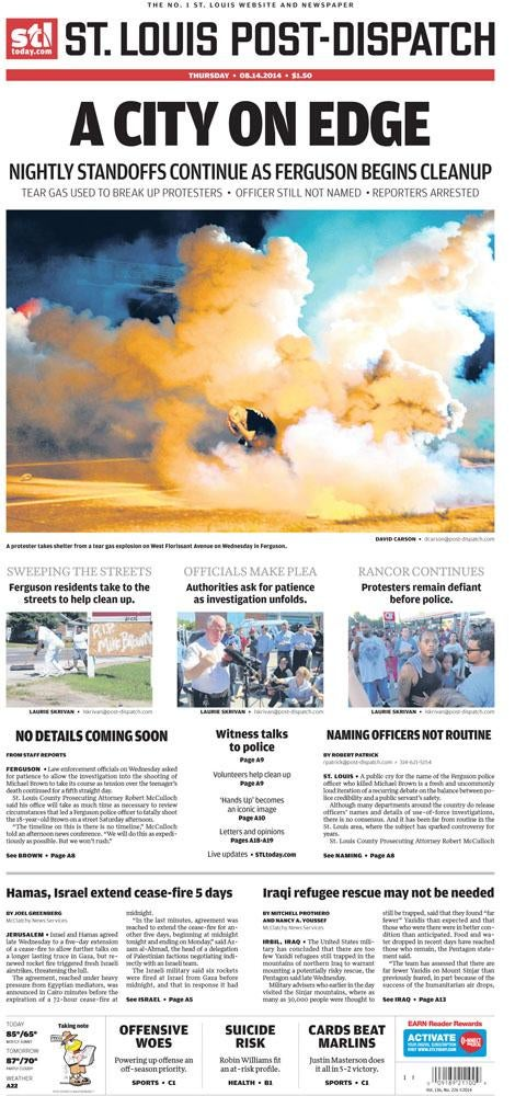 Examining the Word Choice of Print Media in the Wake of Ferguson