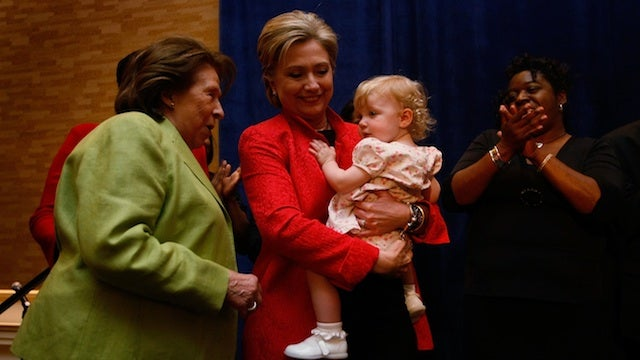 Moving Photos Chronicle Dorothy Rodham's Travels With Hillary
