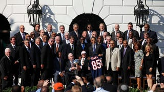 The '85 Bears At The Obama White House: A Historic Photo, Annotated