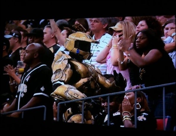 Guess Who Loves The New Orleans Saints?