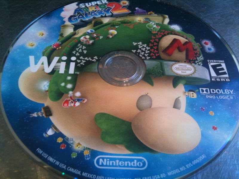 Super Mario Galaxy 2 In Disc Form