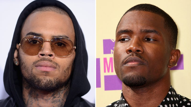 Chris Brown Allegedly Punched Frank Ocean Over A Parking Spot