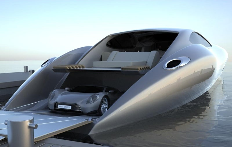 Buy A Mega Luxury Yacht, Get A Super Car Free