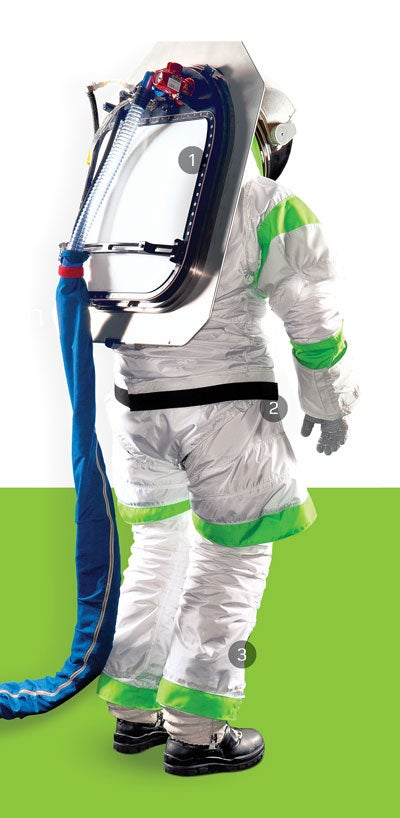 NASA's Next Spacesuit Makes Astronauts Look Like Trash Bags