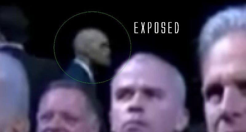 The White House responds to the creepy alien body guards conspiracy
