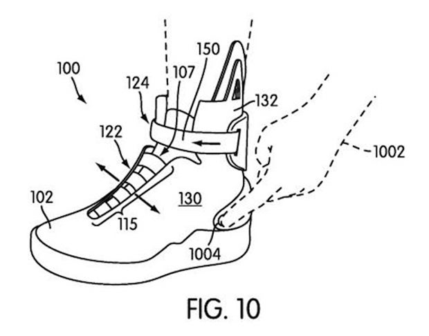 Nike's Got Back to the Future II Sneaker Patents