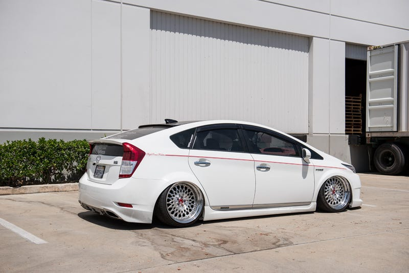 The Stanced Lexus Prius