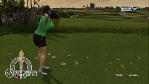 Tiger Woods PGA Tour 11 PlayStation Move Screens