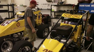 A Look Into The Life Of A Sprint Car Driver