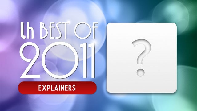 Most Popular Explainers of 2011
