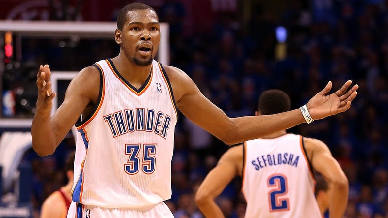 Kevin Durant Finds That Life Without Russell Westbrook Isn't Much Fun
