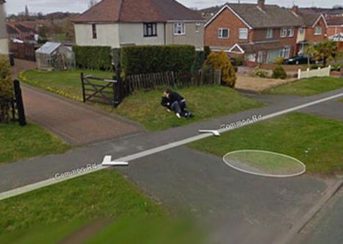 Google Street View Captures Couple's First Dry Hump