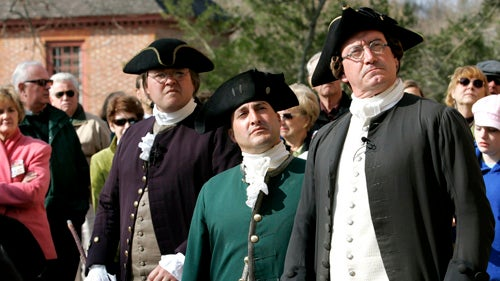 Obama Lucks Out of Colonial Williamsburg Vacation
