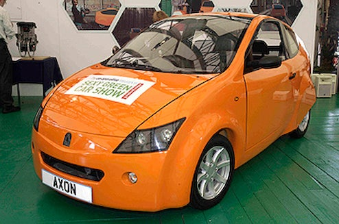 100 MPG Axon City Car In Realistic-Thinking Shocker