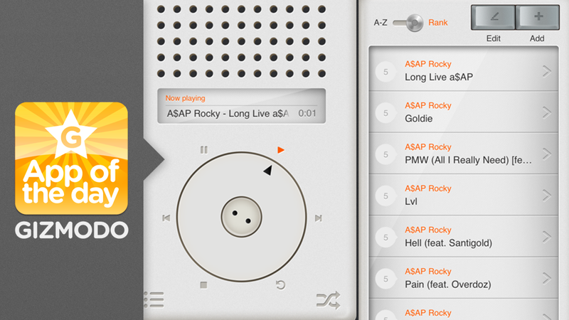 The T3 App: A Dieter Rams-Inspired Music Player