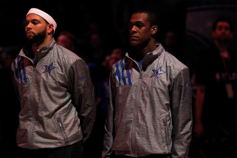 Deron Williams Knows His 57-Point Game Was Less Impressive Than Rajon Rondo's Triple-Double