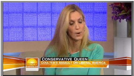 Ann Coulter Is Not Grateful For Today Show Invitation