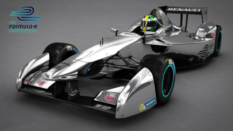 All-Electric Race Series Gets To Say The Andrettis Are Involved