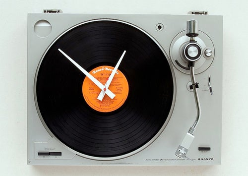 Spin Time Instead of Records On This Old Turntable