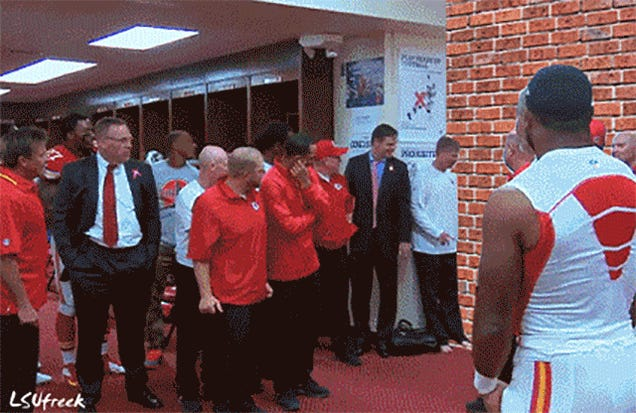 This GIF Of Andy Reid As The Kool-Aid Man Will Make You Happy